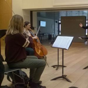 Women Conductors' Workshop in St. Catharine's College