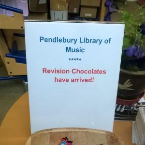 Revision Chocolates in the Pendlebury - in the last week before exams, the faculty gives out free chocolate to lift everybody's spirits!