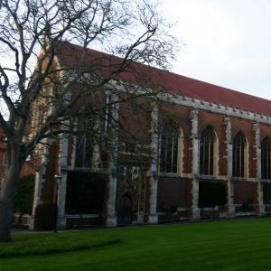 Walnut Tree Court - College chapel (open to everyone) and student accommodation