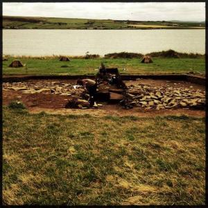 Digging in Orkney