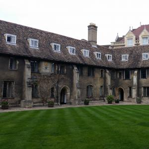 Old Court - student accommodation. It is possibly the oldest continually inhabited courtyard in the country!